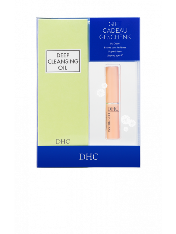 Deep Cleansing Oil + Lip Cream Boxed Set